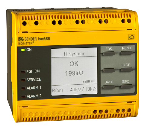 Bender launches new subsea cable LIM Insulation Monitoring device