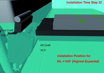 Installation Time Step 22