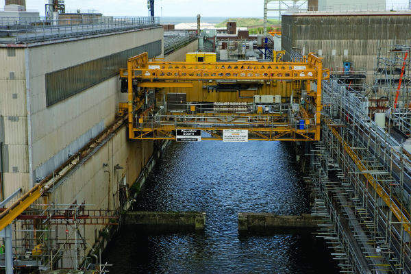 FGMSP - First Generation Magnox Storage Pond at Sellafield