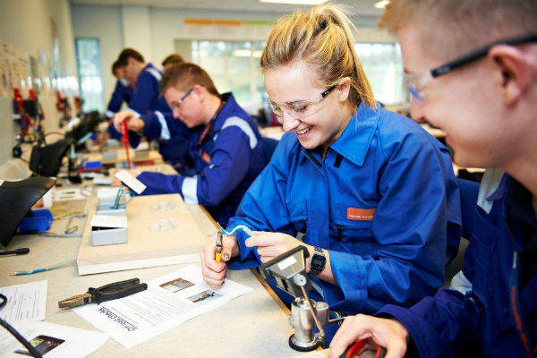 EDF Energy apprentices