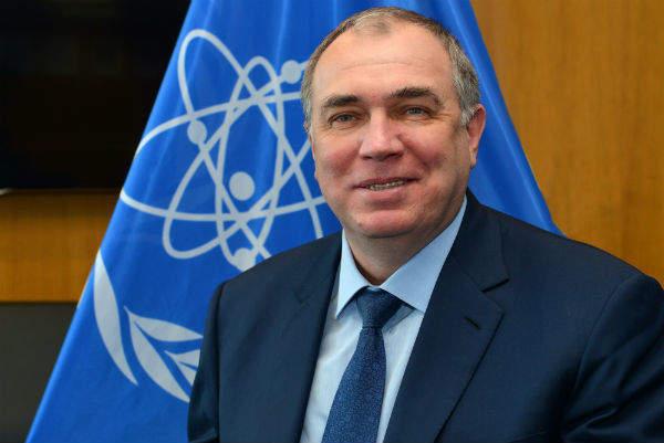 Dr Mikhail Chudakov (credit IAEA)