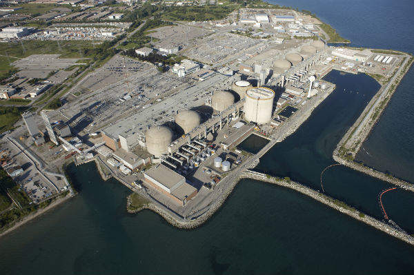 Pickering nuclear station in Canada