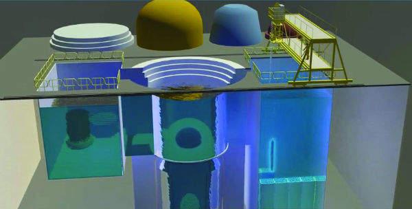 Screenshot from IPPO showing reactor refueling