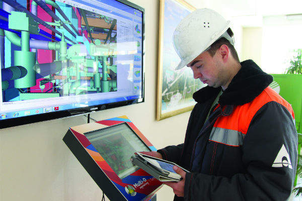 Tablets can be used in the field