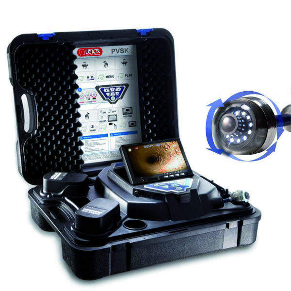 The Lenox videoscope system packs into a rigid carrying case. It includes a 7-inch monitor that comes with a 2m umbilical.