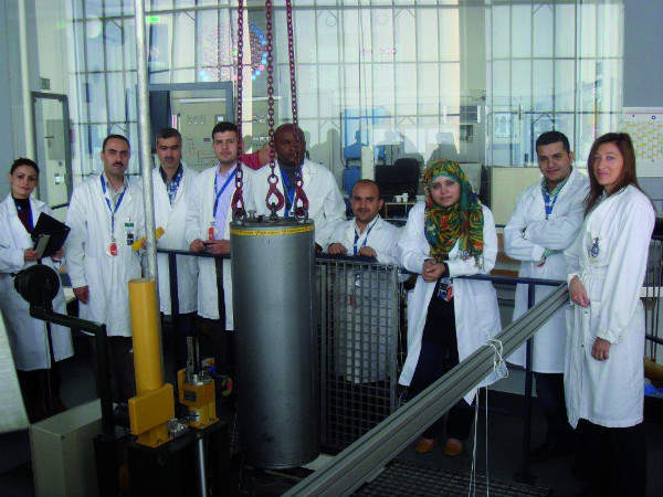Training at the TRIGA Mark II reactor in Vienna