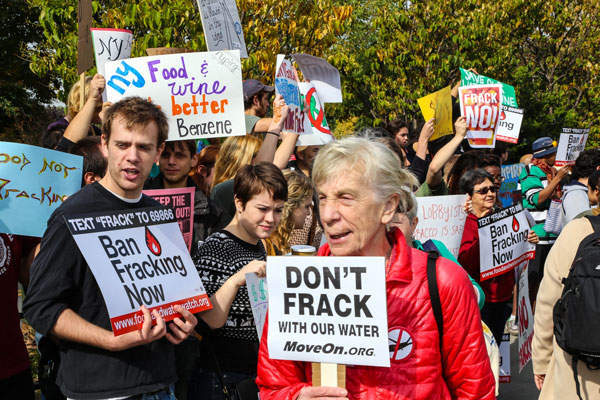 It is believed that fracking could place even more pressure on water supplies.