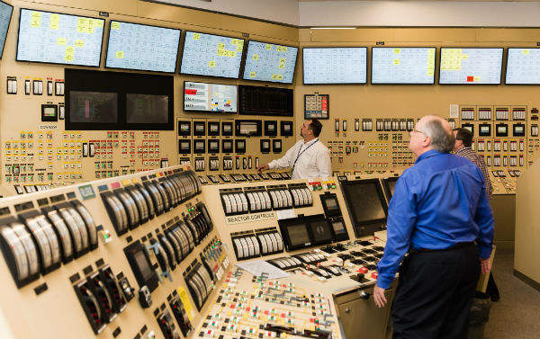The simulator's annunciators are now controlled on the Ovation™ Distributed Control System, similar to those in the AP1000® nuclear power plant control room.