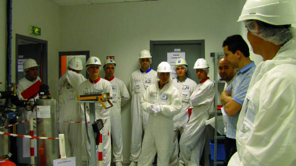 The ISTP nuclear training facility, simulating a ionizing radiation work context