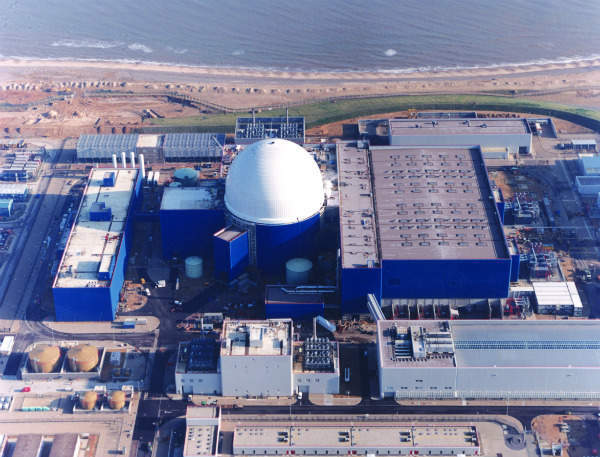 Sizewell B nuclear power plant