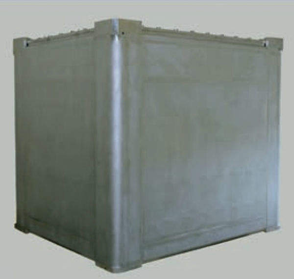 Shielded waste packages (2m ILW box)