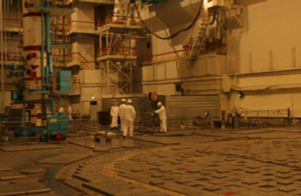 Graphite restoration work was completed at Leningrad 1 in late 2013