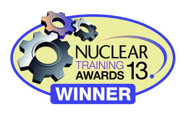NEI Nuclear Training Awards 2013 winner