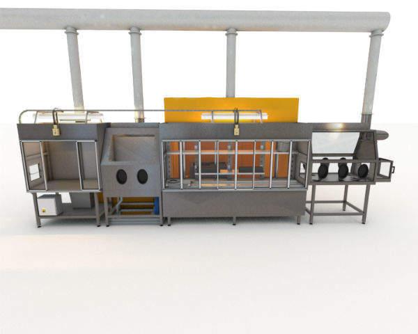 Decontamination facility
