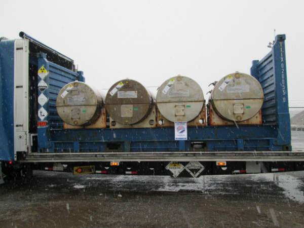 Megatons to Megawatts Final Shipment on 9 December 2013