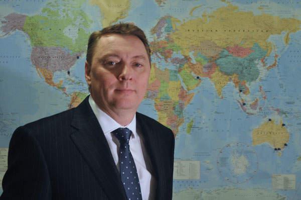 Austen Adams, managing director of UK firm Metalcraft