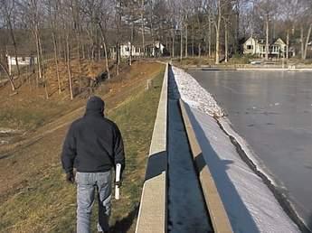 Repair complete at Cupsaw Lake dam