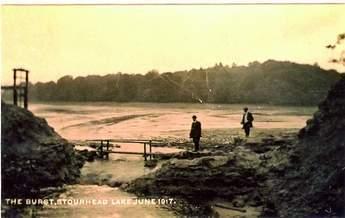 Figure 1: Gasper dam after the flood of 28-29 June 1917