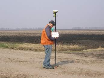 Ground survey points