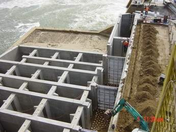 Fishway construction