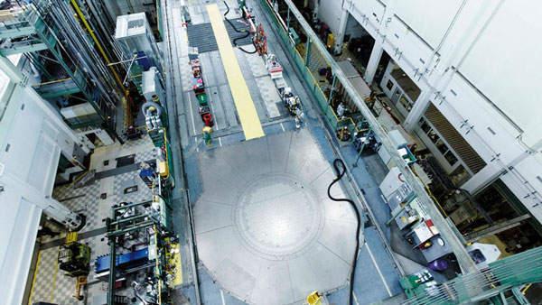 Canada's NRU reactor. Source: AECL