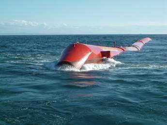 Ocean Power Delivery's Pelamis device