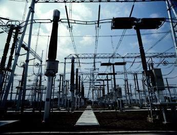 AC switchyard at Huizhou converter station