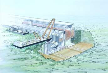 Barrage construction 1