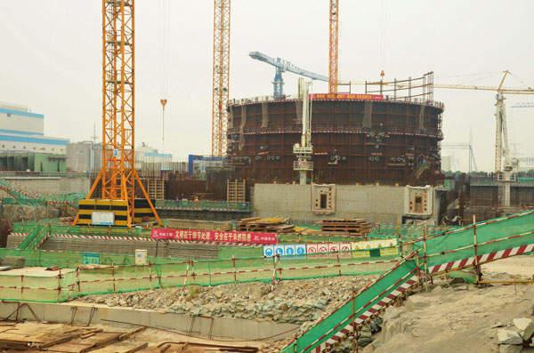 Tianwan 3&4 construction site