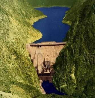 Toktogul dam