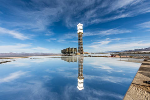 Ivanpah Solar Electric Generating System (Photo courtesy Business Wire/ NRG Energy)