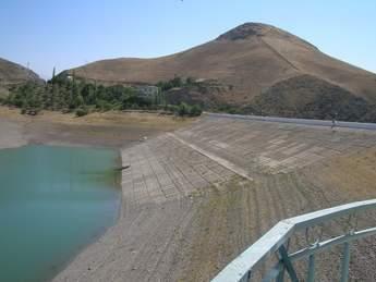 Naiman Dam - upstream