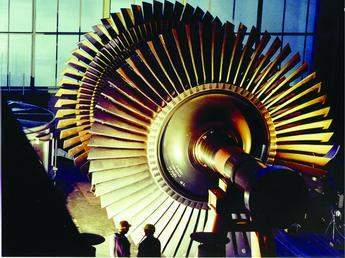Shrunk-on-disk LP turbine rotor