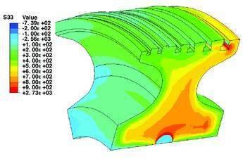 Non-linear fracture mechanics analysis for hypothetical worst-case scenarios