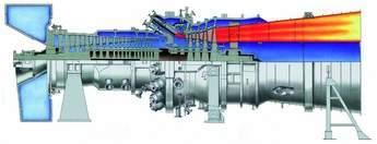 M501G1 gas turbine