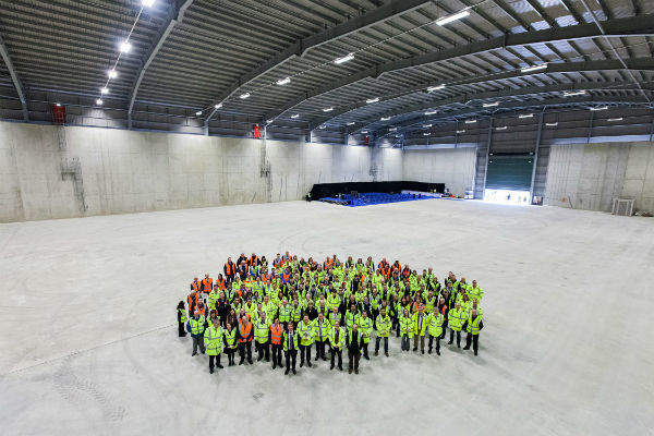 The first Dounreay LLW vaults were handed over in May 2014