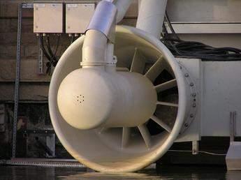 Jebel Aulia turbine generator unit