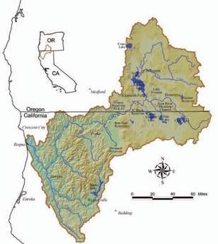 Klamath map