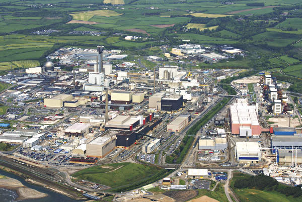 Sellafield site photo from 2008