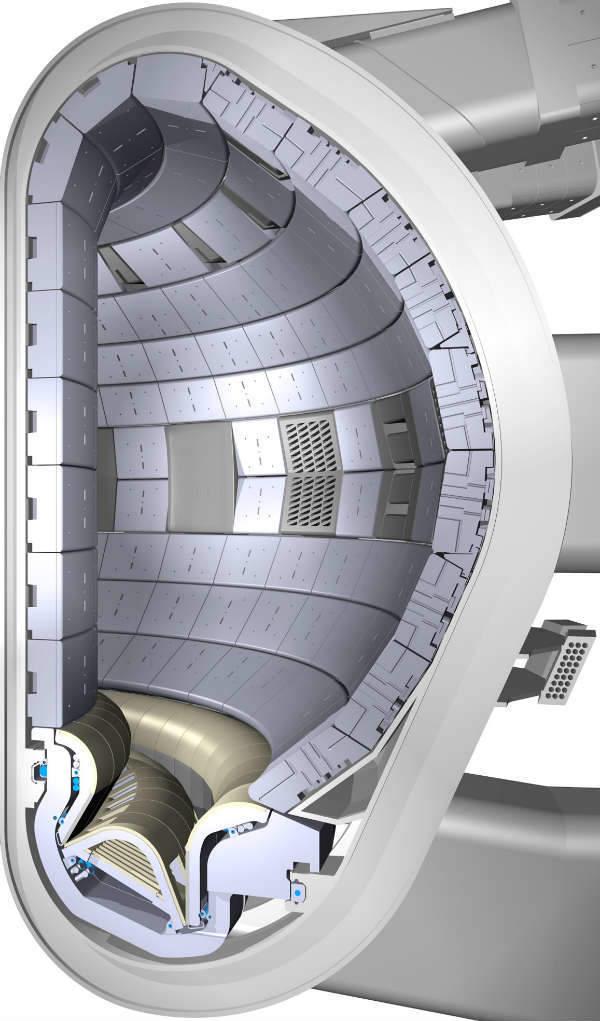 440 panels will line the ITER vacuum vessel