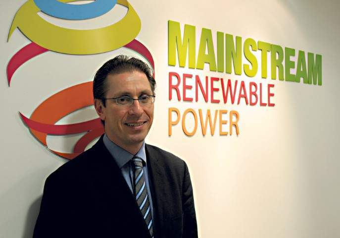 Andy Kinsella, chief executive of Mainstream' offshore division