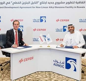 ADNOC, Cepsa to build Linear Alkylbenzene facility in Ruwais complex