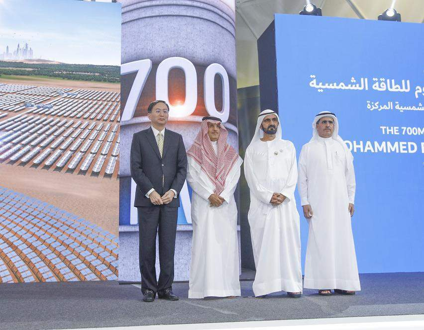 Abengoa bags $650m contract for 700MW CSP project in Dubai