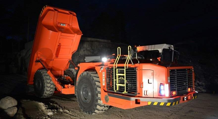 Sandvik introduces new truck for underground mining
