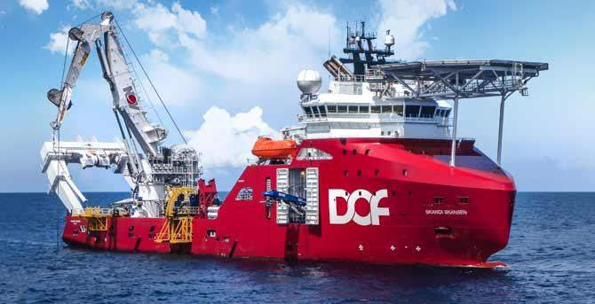 DOF Subsea bags contracts for Geosund and Skandi Skansen vessels
