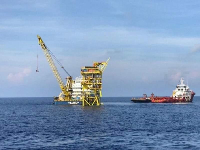 Image 1- Ophir oil field