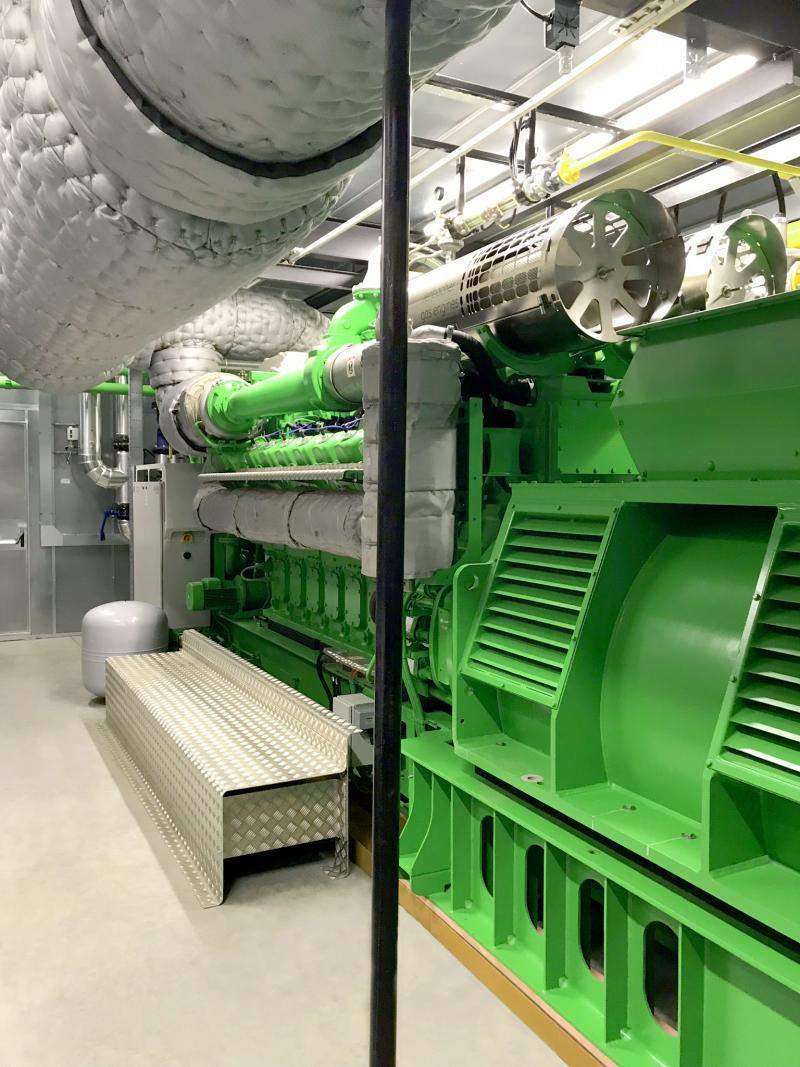 Jenbacher Gas Engine