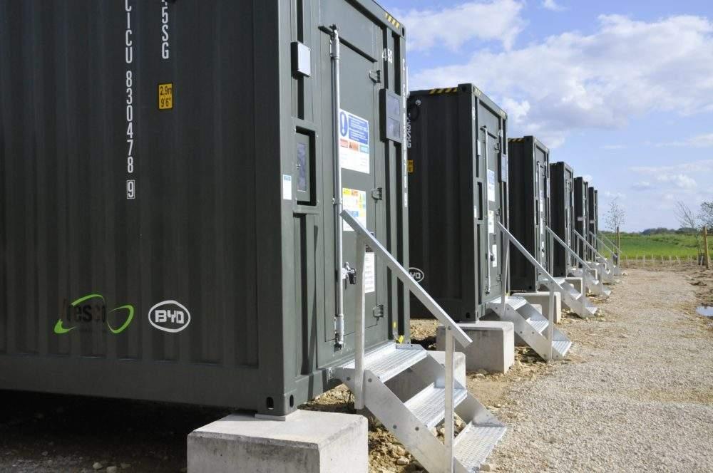 Mill Farm energy storage site