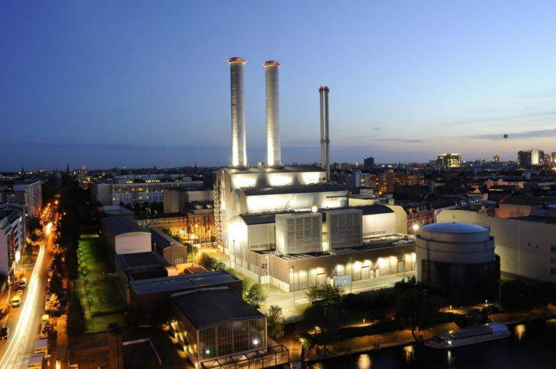 Vattenfall German Power Plant