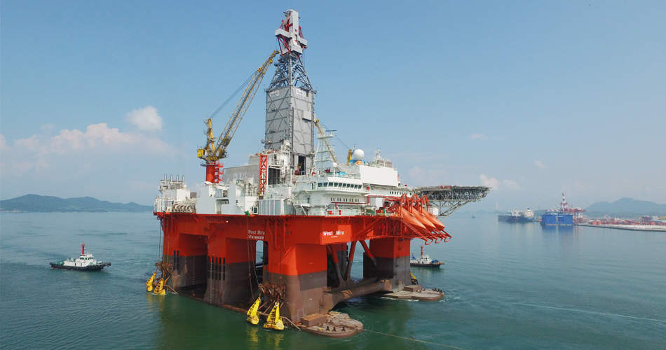 West Mira drilling rig